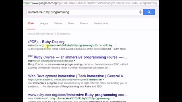 More Ruby Tutorials | CodeMasry